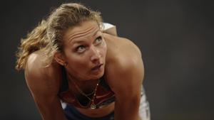 Tatyana Firova won a silver medal as part of the Rusian 4X400m team