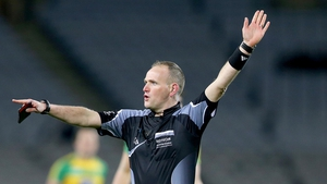 Conor Lane refereed this year's All-Ireland club final