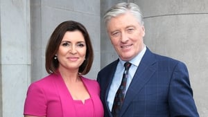 Colette Fitzpatrick and Pat Kenny at the launch at the NCH - New weekly show billed as a