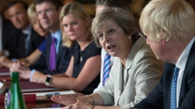 Theresa May held a cabinet meeting at the Prime Minister's country retreat Chequers, Buckinghamshire