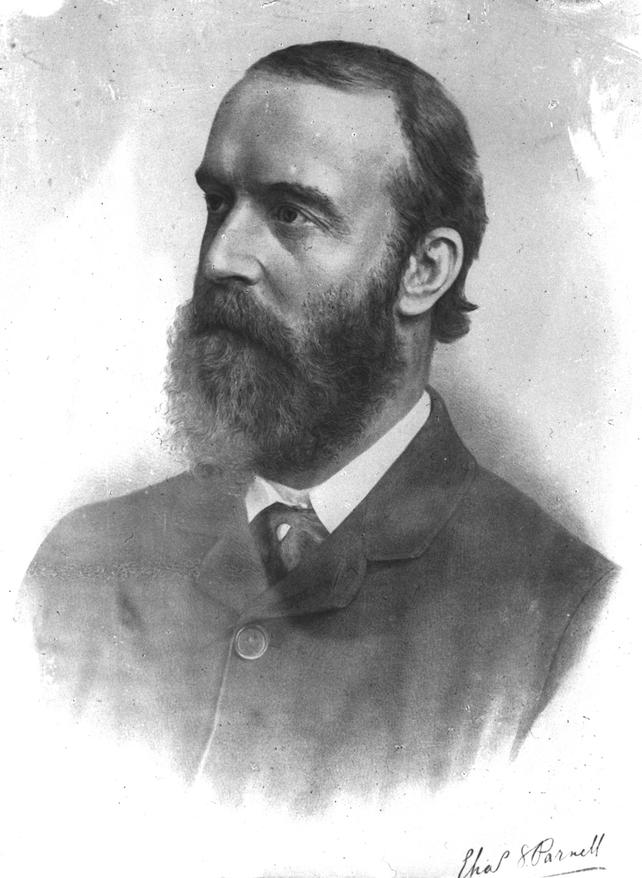 Portrait of Charles Stewart Parnell (circa 1886)