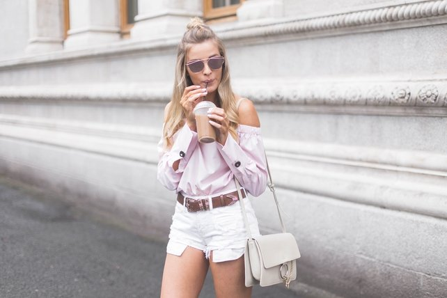 Louise shares her amazing style tips on her blog