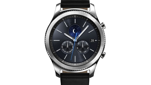 The Gear S3 will support mobile payments from Samsung Pay and the wristbands will be customisable