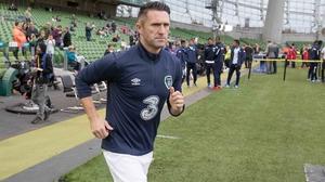 Keane retired from international football in August 2015