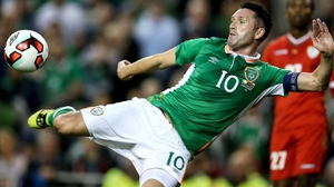 Robbie Keane finished with a stunning volley