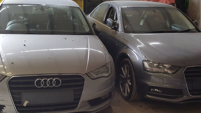 Stolen cars, drugs seized across three counties