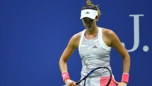 Garbine Muguruza has now failed to make round three at Flushing Meadows in four attempts