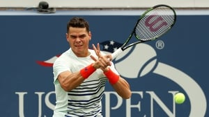 Milos Raonic had been among the favourites at the final slam of the year