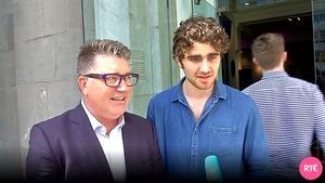 Pat Shortt and Charlie Kelly star in Smalltown on TV3