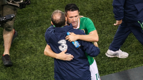 Robbie Keane makes history on his farewell match for Republic of Ireland