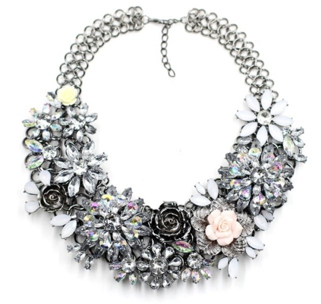 Pick up a statement necklace from Betty + Biddy