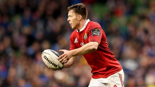 Johnny Holland made his Munster debut in 2013