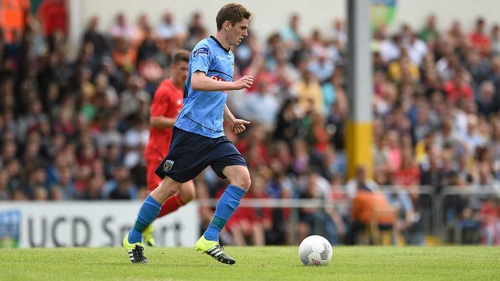 Dylan Watts has enjoyed a meteoric rise through the ranks at UCD