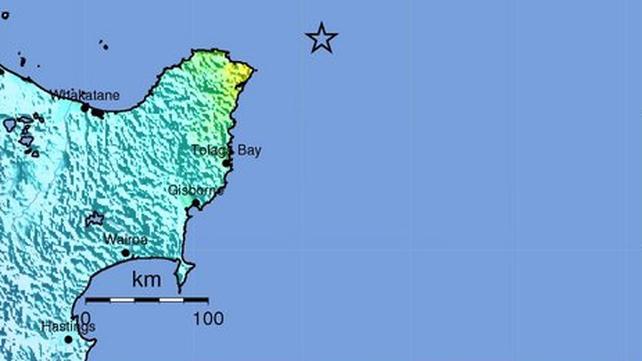 Earthquake magnitude 7.1 hits coast of New Zealand
