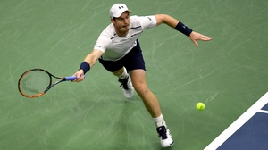 Andy Murray claimed victory in straight sets
