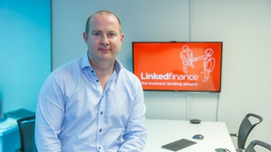 Linked Finance chief executive Niall Dorrian