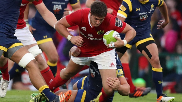 Dan Goggin makes his European bow for Munster