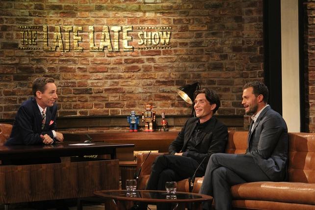 Late Late Ryan Tubridy, Cillian Murphy, Jamie Dornan