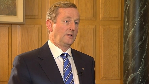 Enda Kenny said'this is about the right of a small nation'