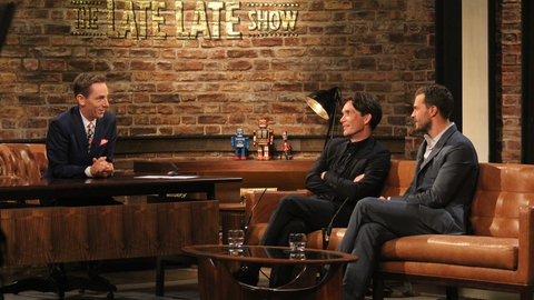 The Late Late Show Extras: Cillian Murphy and Jamie Dornan