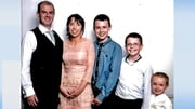 Alan and Clodagh Hawe and their children Liam, Niall and Ryan were found dead last August