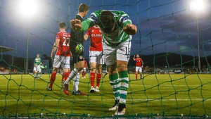 Shamrock Rovers were letf frustrated at Tallaght Stadium