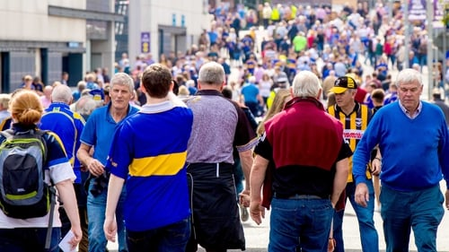 The supporters came in their droves for the first Sunday in September.