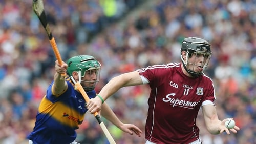 Cathal Barrett in action in last year's All-Ireland semi-final