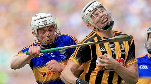 Ronan Maher and Liam Blanchfield clash at Croke Park