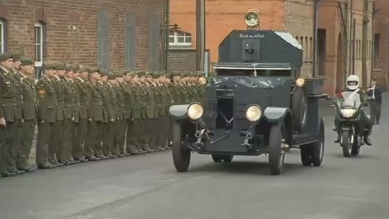 Michael Collins Car Restored