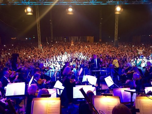 The RTÉ Concert Orchestra and Jenny Greene got the crowd moving on Friday night
