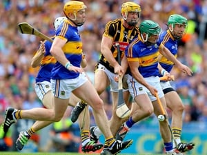 There was a goal chance for Colin Fennelly - but Tipp snuffed it out.
