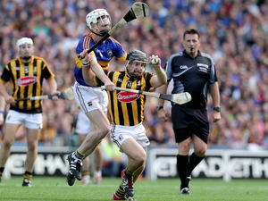 Richie Hogan struck back to give his county some hope.