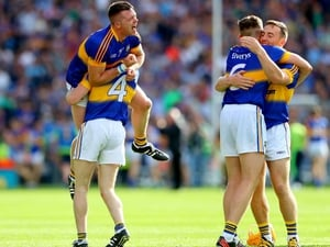 But it was too little too late. Ecstasy for Tipp...