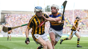 Kilkenny's TJ Reid is tackled by Ronan Maher