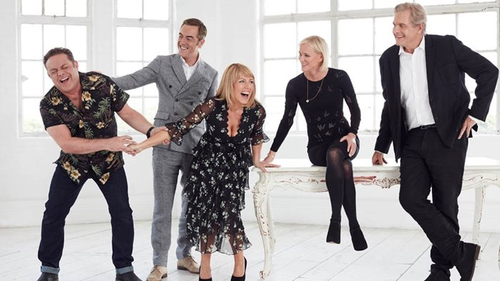 Wedding day jitters for Adam as Cold Feet gang reunites