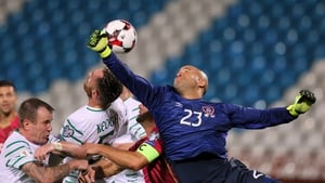 Darren Randolph was happy with a point from Serbia