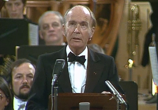President Hillery Opens the National Concert Hall (1981)
