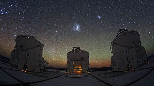 Chile's Atacama desert is home to the Paranal observatory; the ideal vantage point for star gazing