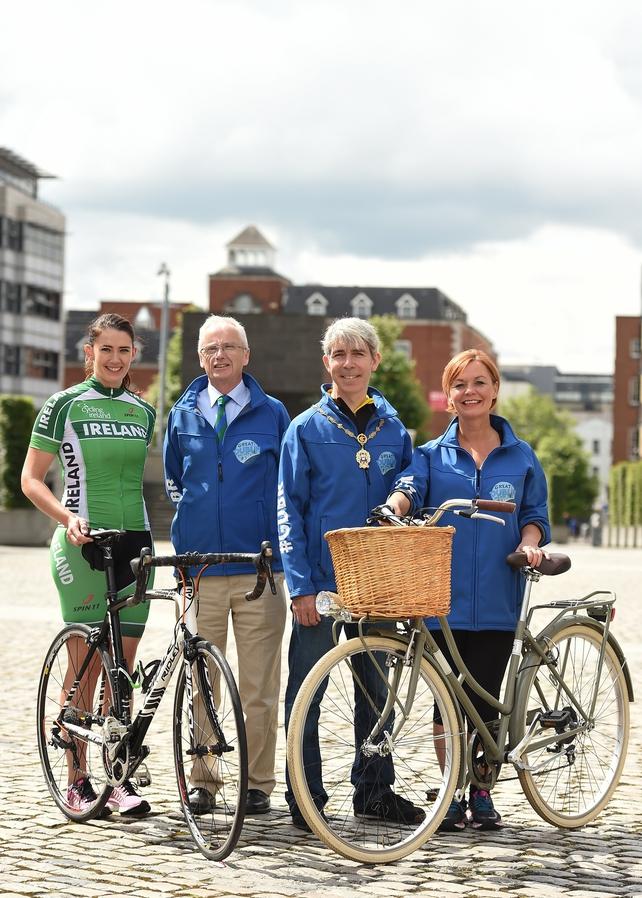 Caroline Ryan, John Treacy, CEO, Sport Ireland, Cllr Andrew Montague, and Noeleen Lyman