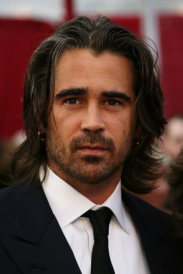 The handsome Irish actor Colin Farrel