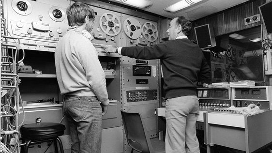 Technical operators for RTÉ Community Radio West (1981)