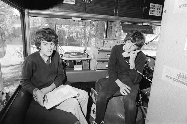 RTÉ Community Radio West in Castlebar, County Mayo (1981)