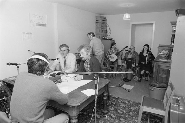 RTÉ Community Radio West in Claremorris, County Mayo (1981)