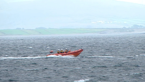 Search began after a small fishing boat was found off the coast near Oranmore