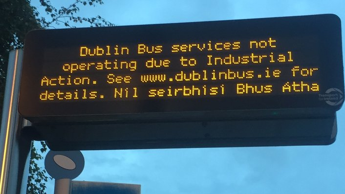 Thousands of bus users disrupted as strike continues