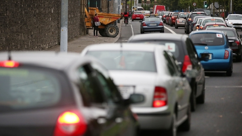 AA Ireland said commuter traffic on main routes around the country will peak today and into the weekend