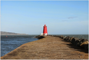 Poolbeg Lighthouse one of the areas earmarked for the arts project