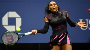 Serena Williams hammered down 18 aces in her win over Simona Halep