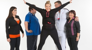 Jumping for joy! The Celeb Op Trans gang
